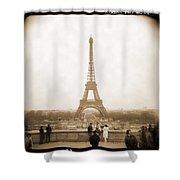 A Walk Through Paris 5 Shower Curtain