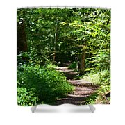 A Walk With God Shower Curtain