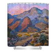A Warm Spring Walk In The Cove Shower Curtain