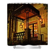 A Warm Summer Night In Charleston Shower Curtain