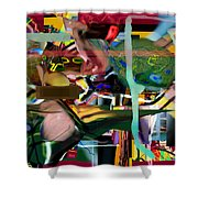 A Way To Bring The World To Tsheuvah 08 Shower Curtain