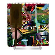 A Way To Bring The World To Tsheuvah 09 Shower Curtain