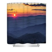 A Welcoming Back Shower Curtain