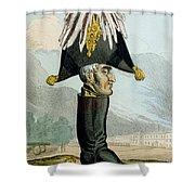 A Wellington Boot Or The Head Shower Curtain