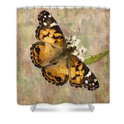 A Whisper Of Wings Shower Curtain