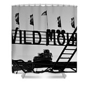 A Wild Ride Shower Curtain