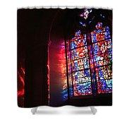 A Window In A Church Shower Curtain