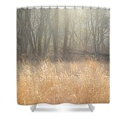 A Winter Glow Shower Curtain