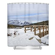 A Winter's Tale Shower Curtain