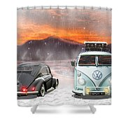 A Winters Tale Shower Curtain