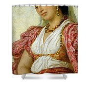 A Woman From Algiers Shower Curtain