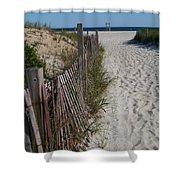 A Wonderful Beachday On Cape Cod Shower Curtain