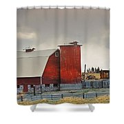 A Working Farm Shower Curtain