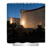 A Wynn And Encore Sunset Shower Curtain