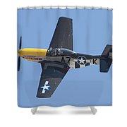 A7k Mustang Shower Curtain