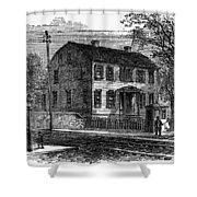 Aaron Burr Birthplace Shower Curtain