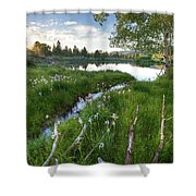 Abajo Mountains Near Montecello, Utah Shower Curtain