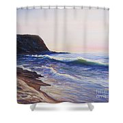 Abalone Cove Shower Curtain