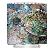 Abalone Grouping Shower Curtain