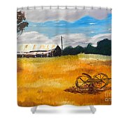 Abandon Farm Shower Curtain