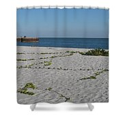 Abandonded Pier Shower Curtain