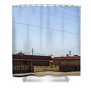 Abandoned 3 Shower Curtain