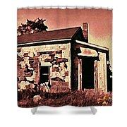 Abandoned Cape Breton House Shower Curtain by John Malone