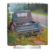 Abandoned Chevy Shower Curtain