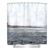 Abandoned Dreams Abwc Shower Curtain