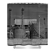 Abandoned Factory At Vadu Shower Curtain
