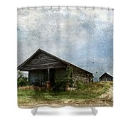 Abandoned Farm Home - Kansas Shower Curtain