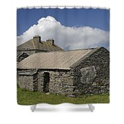 Abandoned Farm In Ireland Shower Curtain