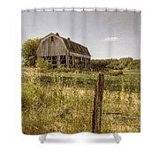 Abandoned Farm Shower Curtain