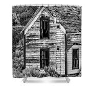 Abandoned Farmhouse - Alstown - Washington - May 2013 Shower Curtain