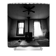 Abandoned Fireplace Shower Curtain by Cale Best