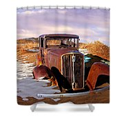 Abandoned For Almost 100 Years On Route 66 Shower Curtain