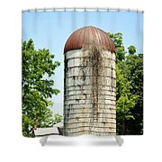 Abandoned Granary Shower Curtain