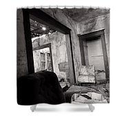 Abandoned Homestead Series Decay 2 Shower Curtain