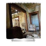 Abandoned Homestead Series Decay Shower Curtain