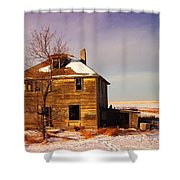 Abandoned House Shower Curtain by Jeff Swan