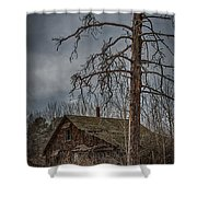 Abandoned House Shower Curtain