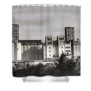 Abandoned Mills Shower Curtain