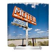 Abandoned Motel Shower Curtain