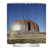 Abandoned Observatory Shower Curtain