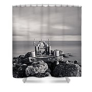 Abandoned Pier Shower Curtain