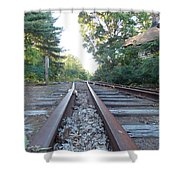 Abandoned Railroad 1 Shower Curtain