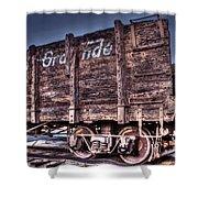 Abandoned Rio Grande Shower Curtain