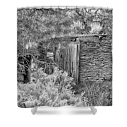 Abandoned Root Cellar - Alstown - Washington - May 2013 Shower Curtain