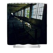 Abandoned Space IIi Shower Curtain