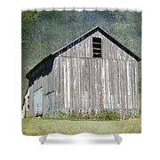 Abandoned Vintage Barn In Illinois Shower Curtain
